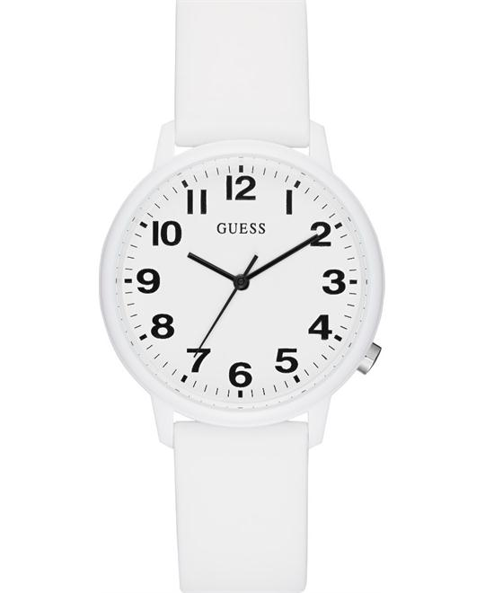 Guess Originals White Silicone Watch 38mm