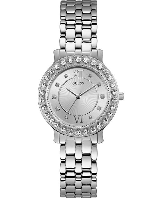 Guess Petite Dress Styles Crystal Watch 34mm