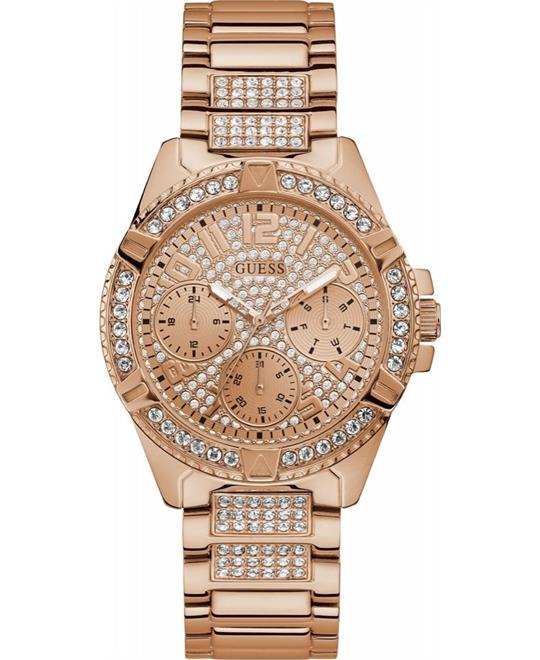 Guess Rhinestone Multifunction Watch 40mm