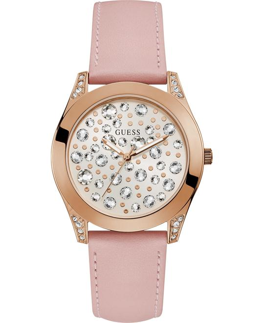 Guess Rose Gold Clear Crytstal Watch 39mm