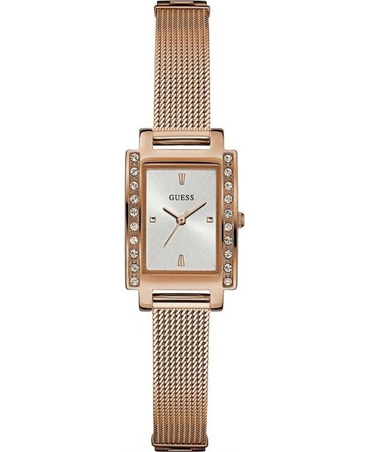 GUESS Rose Gold-Tone Stainless Steel Watch 20x35mm