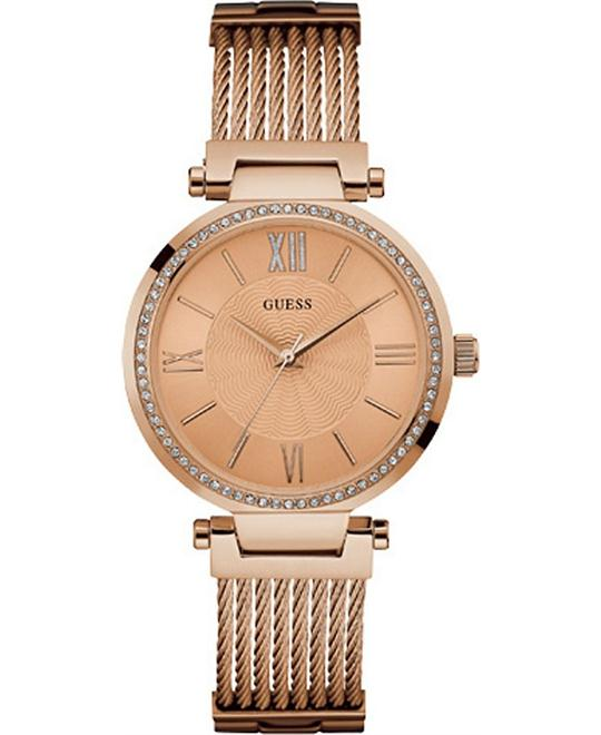 GUESS Rose Gold-Tone watch 36mm