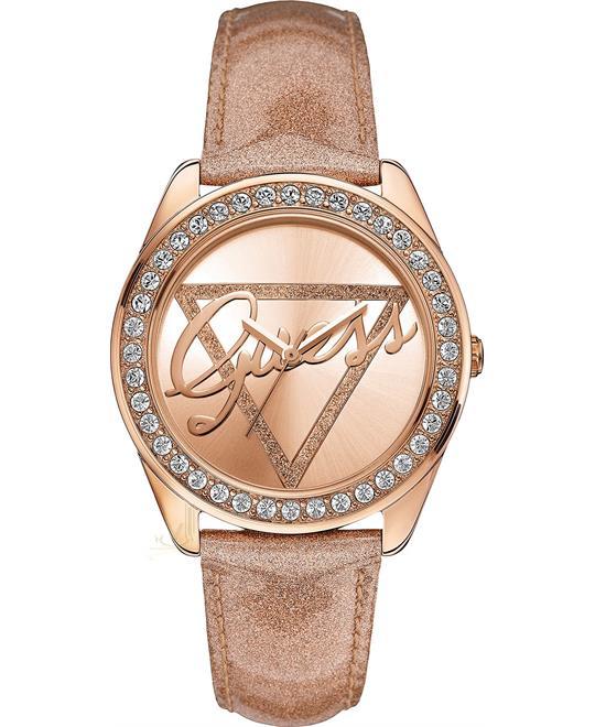 đồng hồ nữ GUESS Rose Gold-Tone Women's Watch 40mm