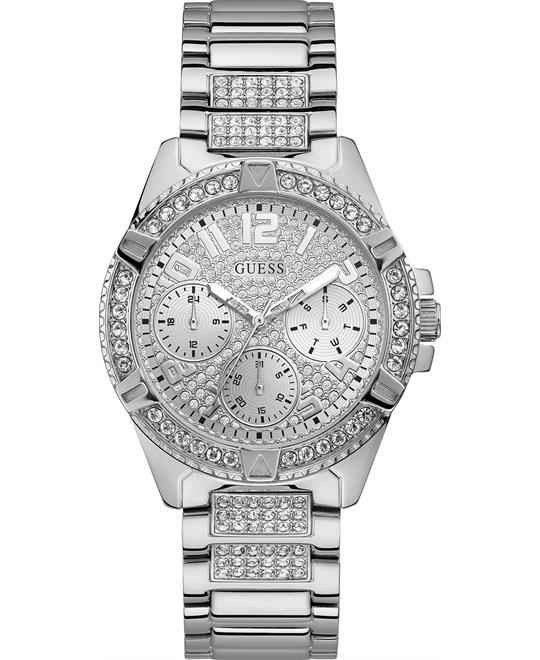 Guess Silver Accented Watch 40mm