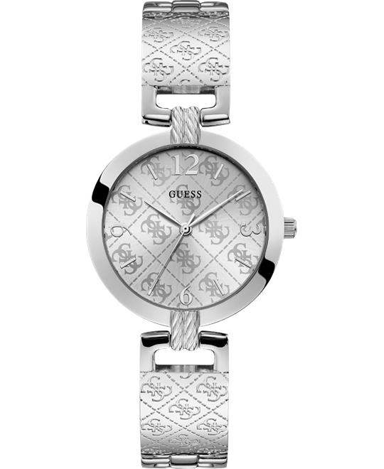 Guess Silver-Tone Analog Watch 35mm
