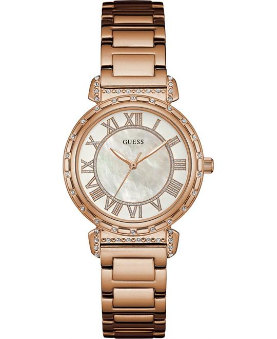 dong ho GUESS South Hampton Rose Gold Women's Watch 34mm