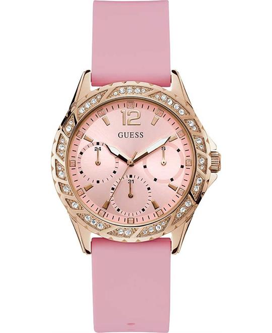 Guess Sparkling Pink Watch 40mm