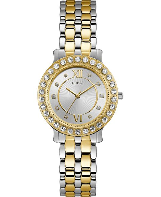 Guess Stainless Steel Crystal Women's Watch 34mm