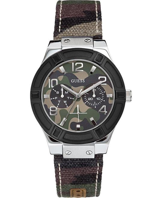 GUESS Standout Sparkle Camo Sport Watch 38mm