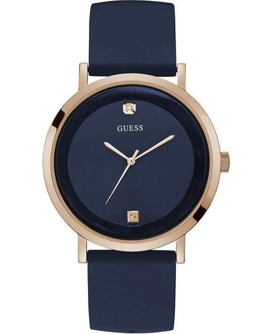 Guess Supernova Gold Blue Watch 44mm