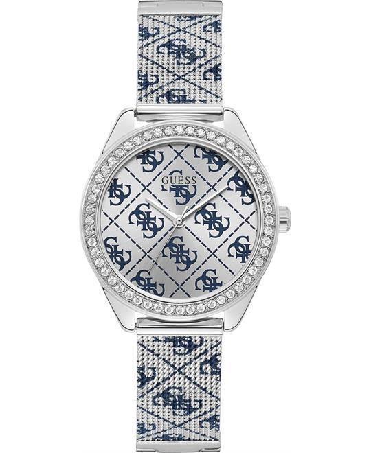 đồng hồ nữ Guess Tiled Logo Analog Watch 36.5mm