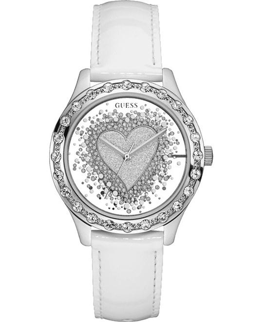 GUESS Trendy Silver-Tone Watch 38mm