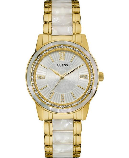 GUESS Two-Tone Stainless Steel Watch 37mm