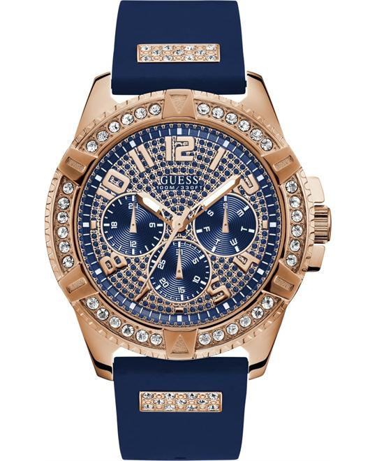 Guess Multifunction Rose Gold-Tone Watch 46mm