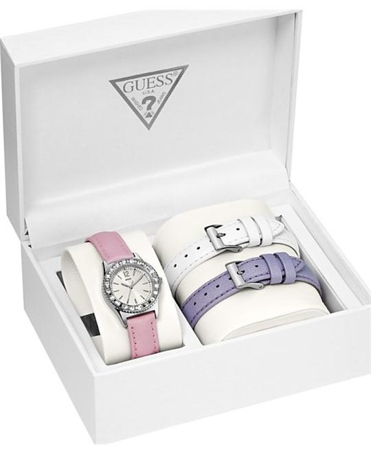 GUESS Interchangeable Women's Watch Set 28mm