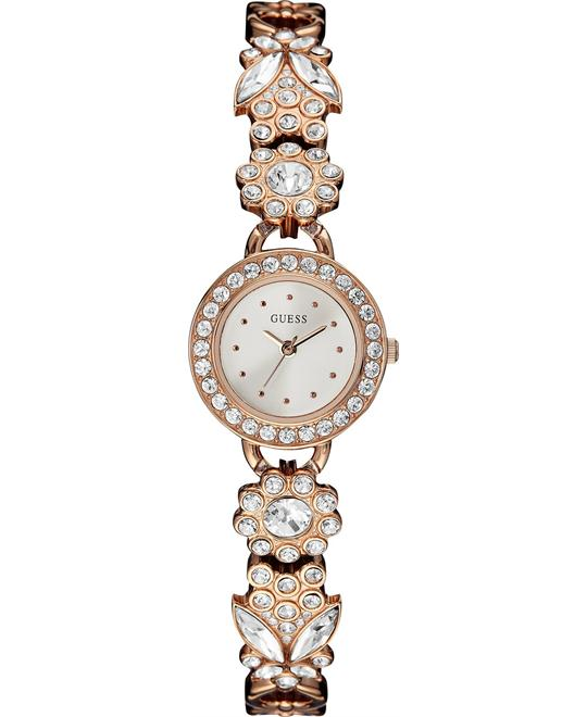 GUESS  Floral Crystal Women's Watch 22mm