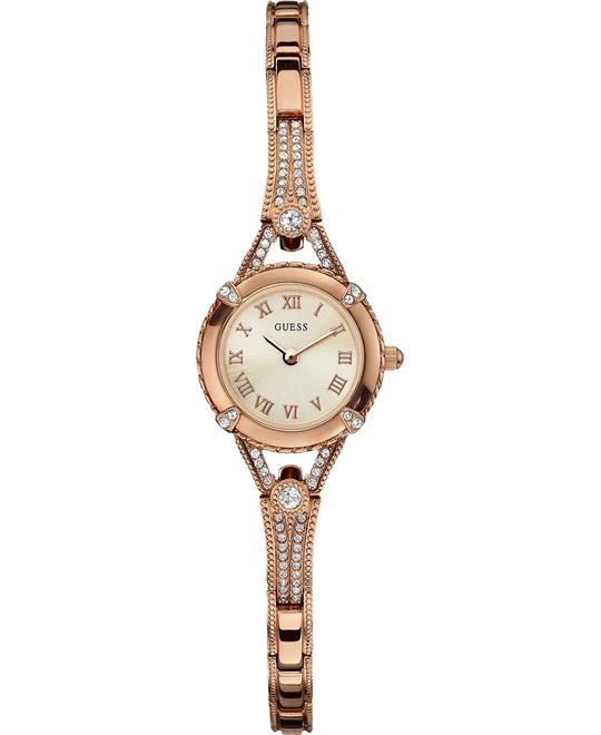 GUESS Petite Embellished Crystal watch 22mm