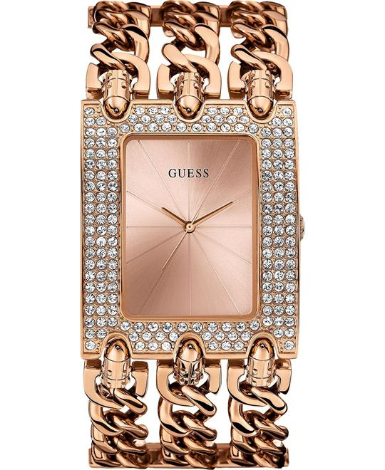 GUESS Brilliance on Links Women's Watch 48x40mm