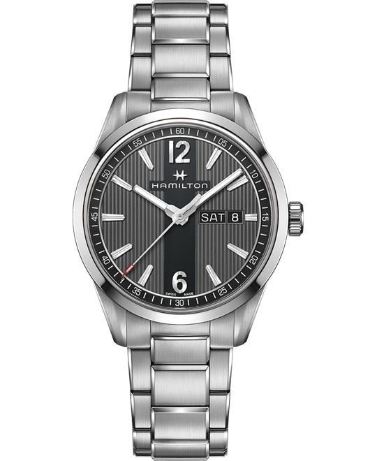 HAMILTON Broadway Day Date Anthracite Watch 40mm