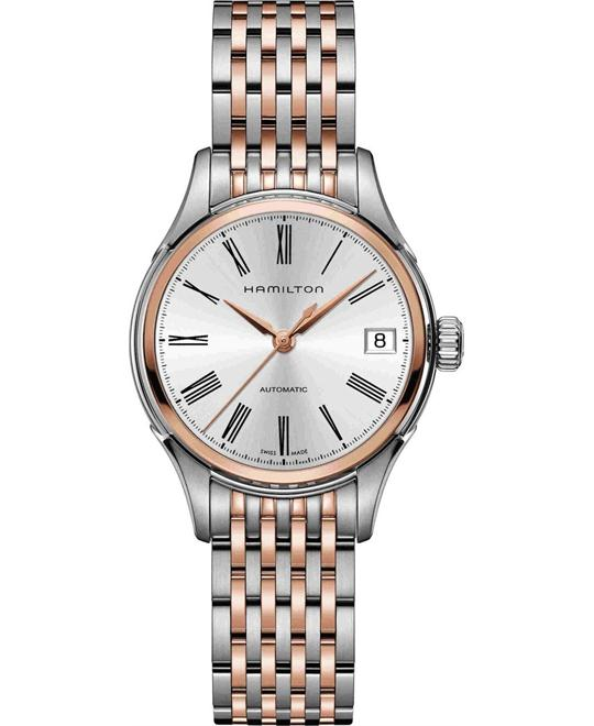 Hamilton Classic Timeless Valiant Auto ladies Watch 34mm