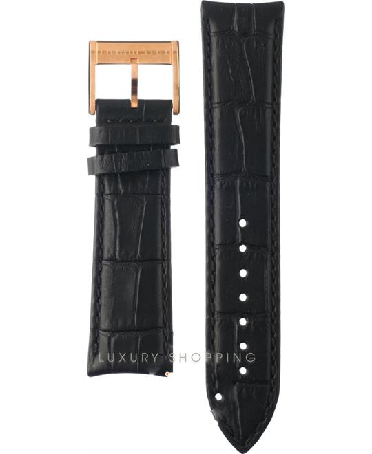 Hamilton Jazzmaster Black Leather Strap 22/20