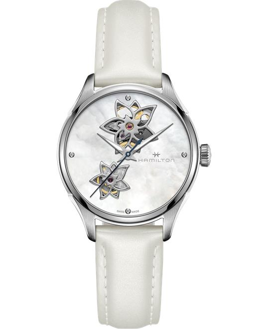 Hamilton Jazzmaster Open Heart Lady Auto 34mm
