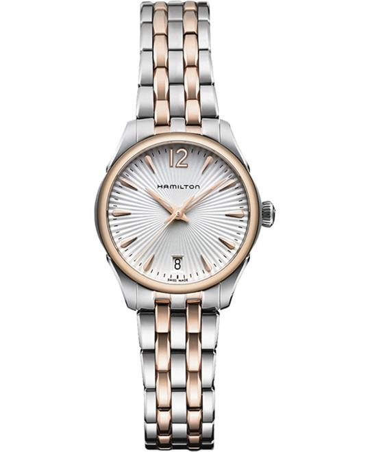 HAMILTON Jazzmaster Rose Gold PVD Watch 30mm