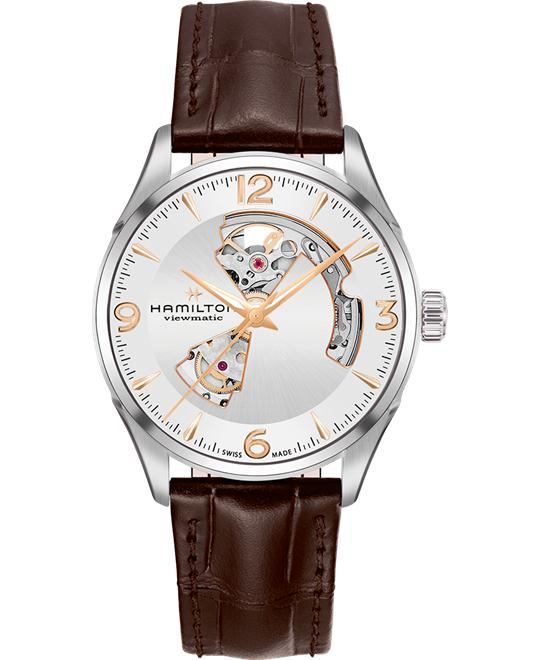 HAMILTON Jazzmaster Open Heart Automatic Watch 42mm