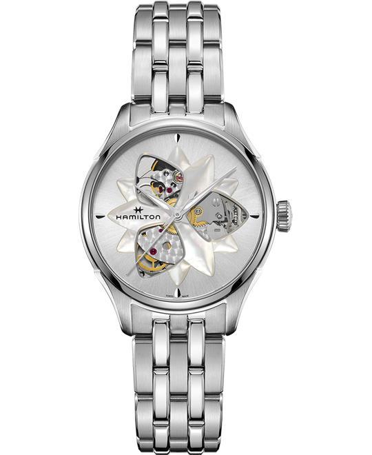 đồng hồ nữ Hamilton Jazzmaster Open Heart Lady Watch 34mm