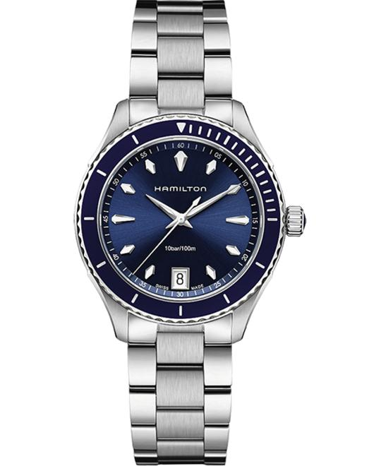 HAMILTON Jazzmaster Seaview Blue Watch 37mm