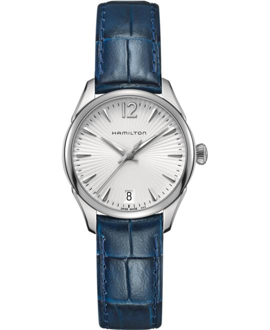 HAMILTON Jazzmaster Silver Ladies Watch 30mm