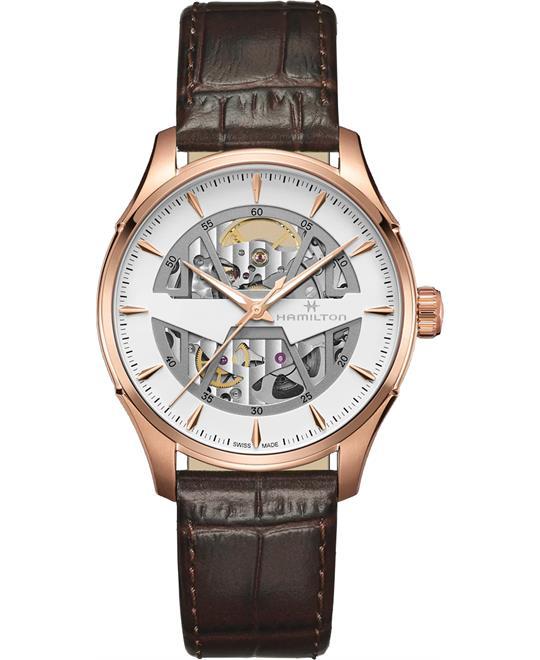 đồng hồ nam Hamilton Jazzmaster Skeleton Auto 40mm