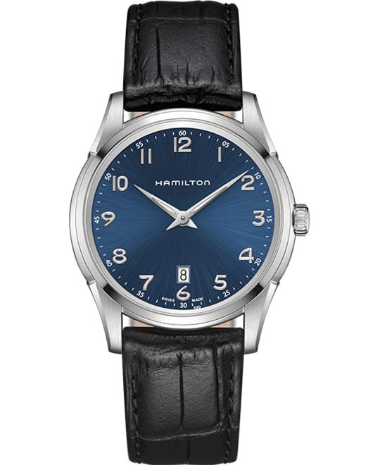 đồng hồ Hamilton Jazzmaster Thinline Blue Watch 42mm