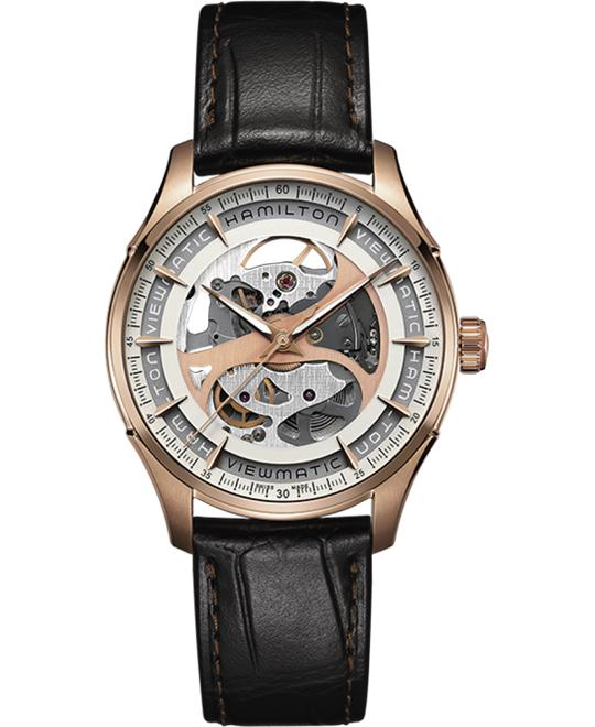 Hamilton Jazzmaster Viewmatic Skeleton Watch 40mm