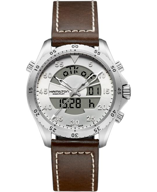 Hamilton Khaki Aviation Flight Timer Watch 40mm