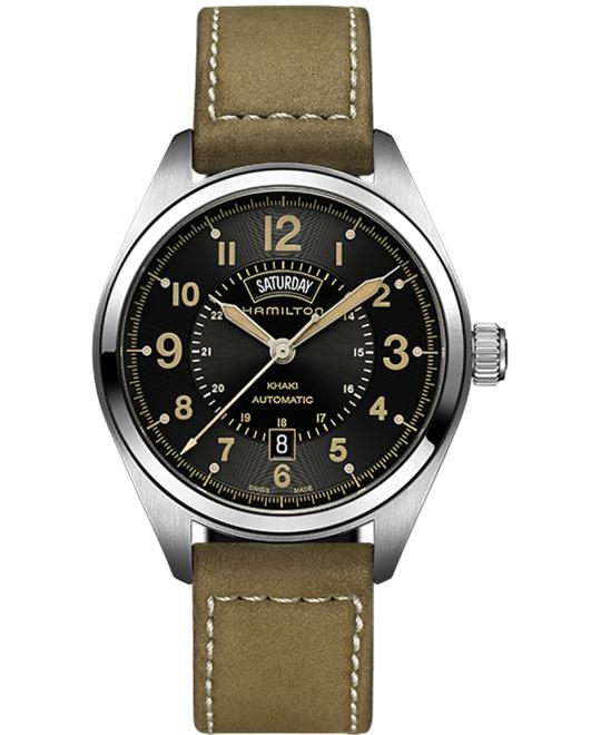 HAMILTON Khaki Field Automatic Black Watch 42mm