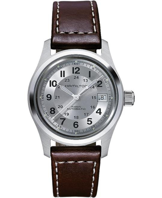 HAMILTON Khaki Field Silver Watch 38mm