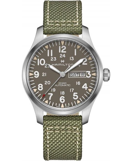 đồng hồ nam quân đội Hamilton Khaki Field Watch 42mm
