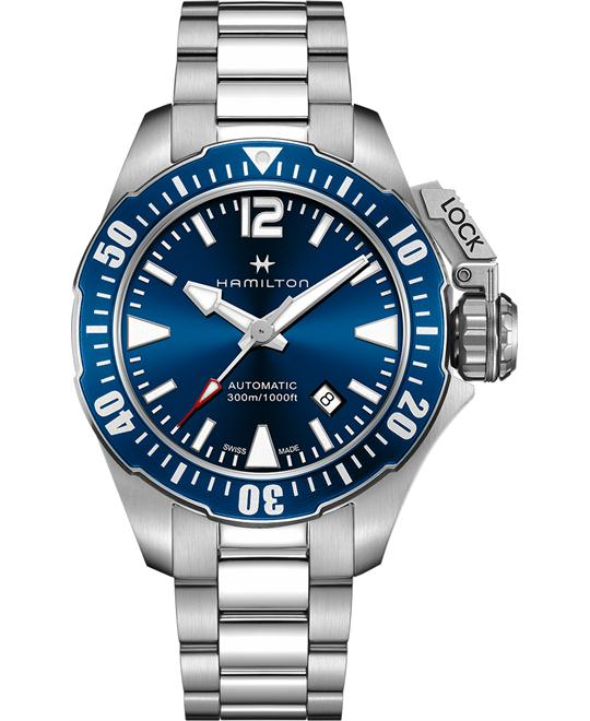 HAMILTON Khaki Navy Frogman Automatic Watch 42mm