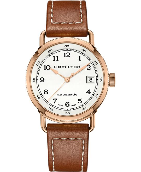 Hamilton Khaki Navy Pioneer PVD SS Watch 36mm