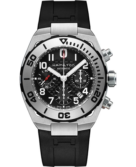 Hamilton Khaki Navy Sub Auto Chrono Men's Automatic Watch 43mm