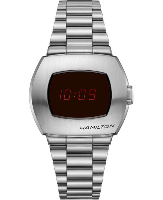 đồng hồ điện tử LED Hamilton PSR Digital Watch 40.8 x 34.7mm