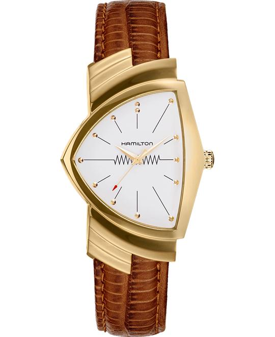 đồng hồ Hamilton Ventura White Men's Watch 32mm
