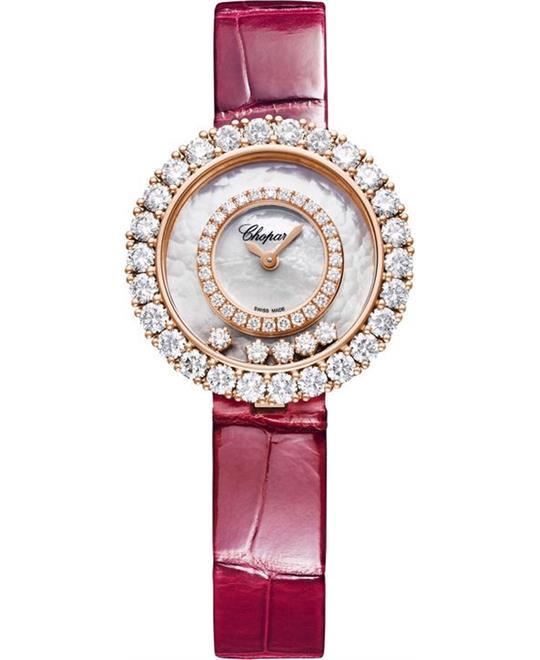 Chopard Happy Diamonds 205369-5001 18k Diamonds 28.6mm