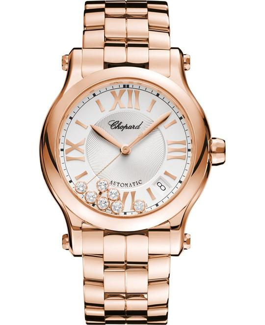 Chopard Happy Sport 274808-5002 Auto 18k Diamonds 36