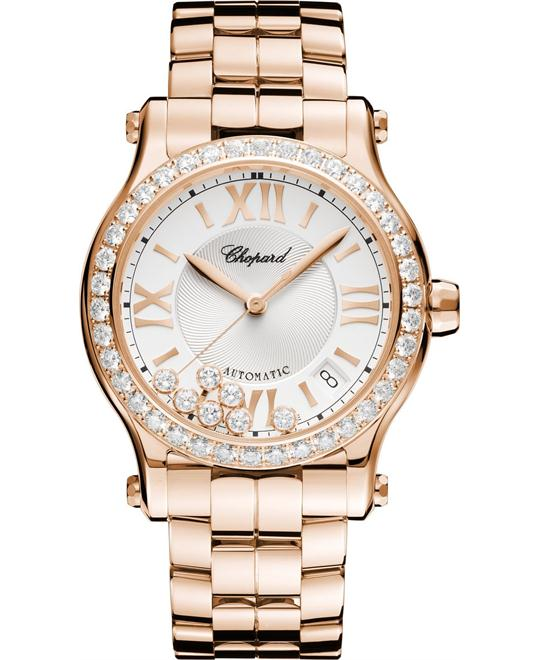 Chopard Happy Sport 274808-5004 18k Diamonds 36mm