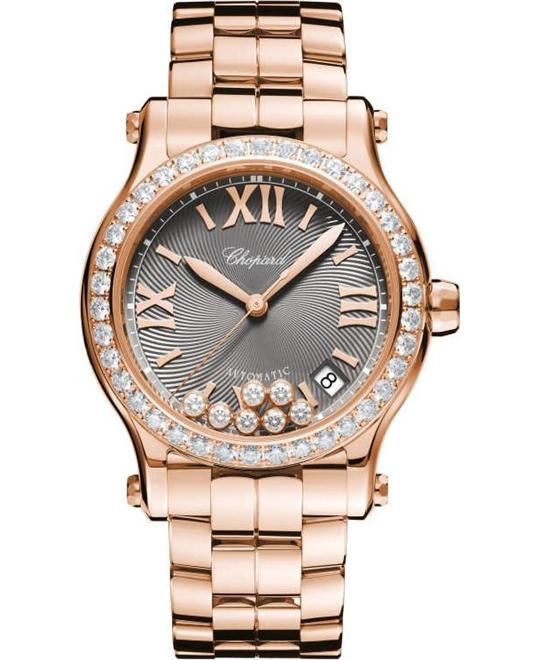 Chopard Happy Sport 274808-5015 Auto 18k Diamonds 36mm