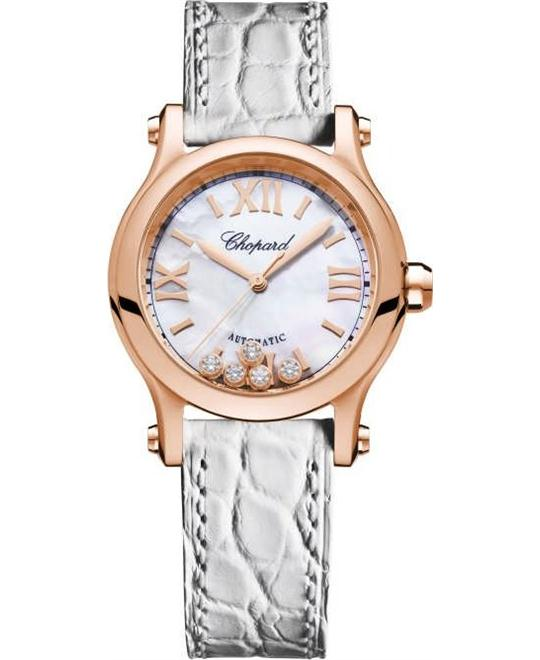 Chopard Happy Sport 274893-5009 Auto 18k Diamonds 30