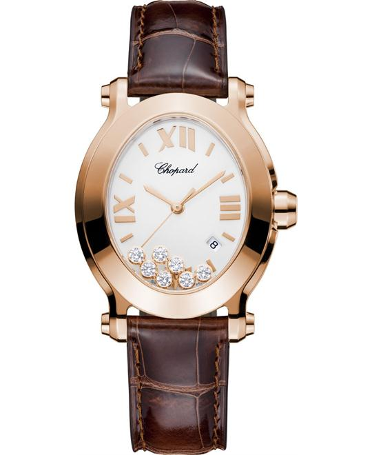 Chopard Happy Sport 275350-5001 18k Diamonds 33.6x30.75