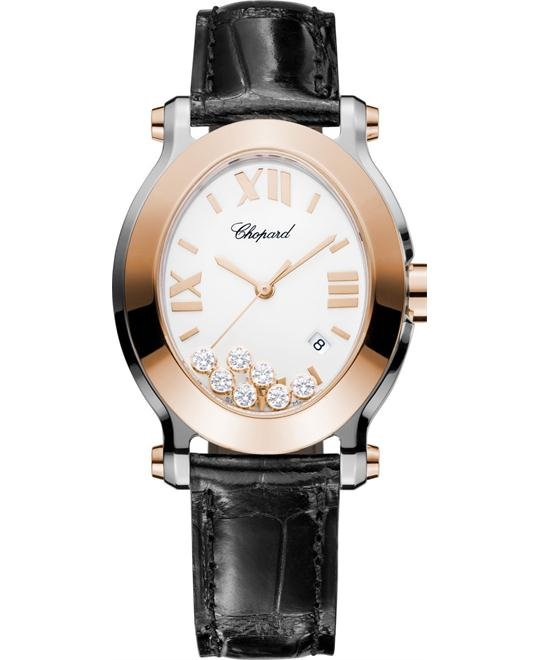 Chopard Happy Sport 278546-6001 18k Diamonds 33.6x30.75